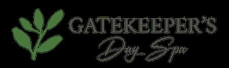 Gatekeepers-Day-Spa-Logos - Horizontal-450px - Green Leaf